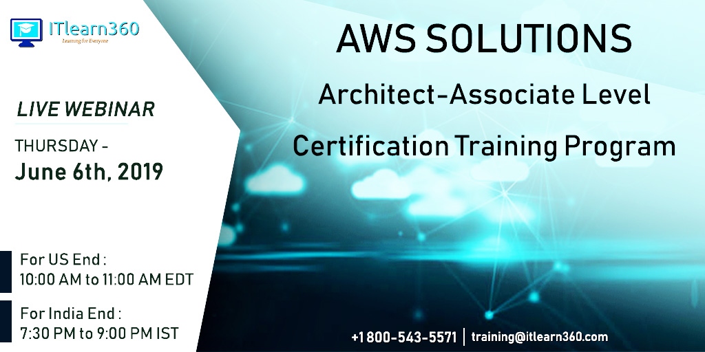 AWS Solutions Architect Associate Level Certification - Online Training