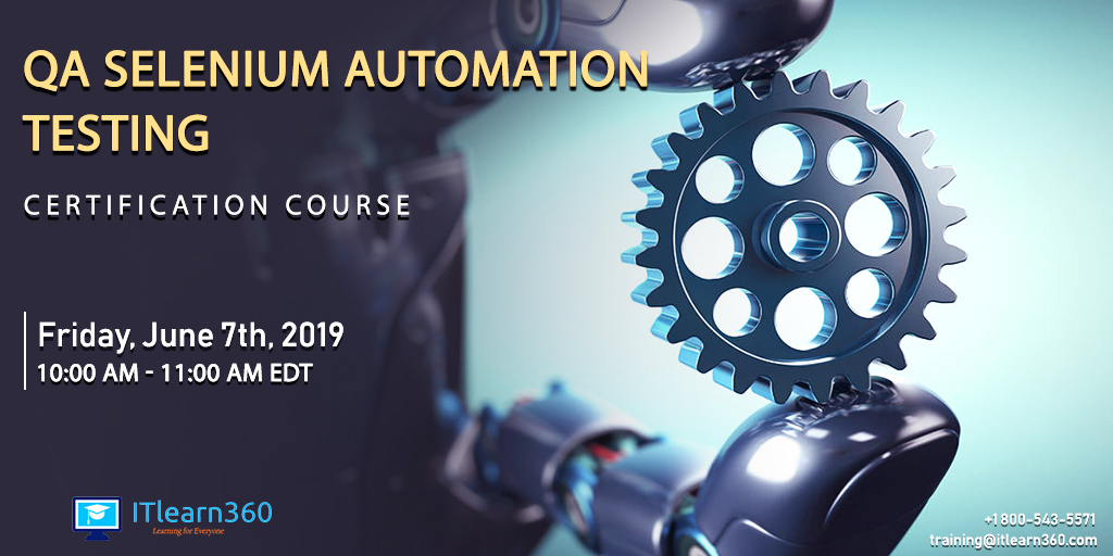 QA Selenium Automation Testing Certification Course Demo Program